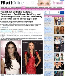 Verdesse in the daily Mail