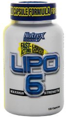 bottle of Lipo6 diet pills
