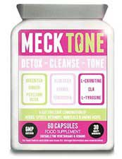 Mecktone diet pill bottle
