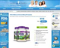 Evolution SLimming website with White Mulberry leaf
