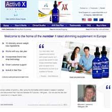 Official Activ8x website