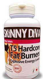 Skinny Diva T5 Hardcore fat burner