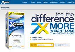 Xenadrine official website
