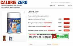 Calorie Zero capsules