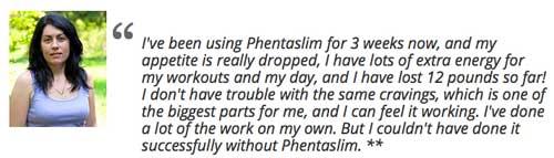 customer reviews of Phentaslim