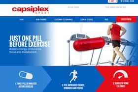 Capsiplex Sport Website