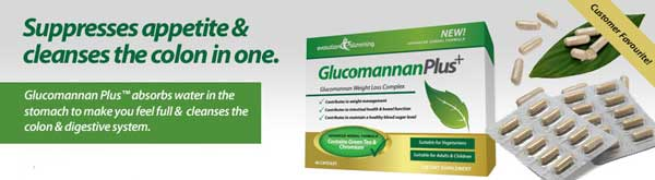 what does Glucomannan Plus do