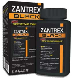 Zantrex black bottles