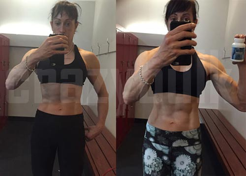 Clenbutrol Women before and after