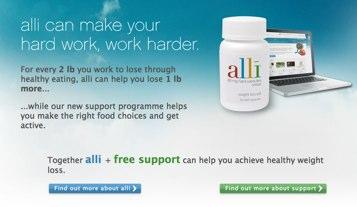 Alli website
