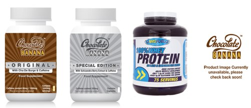 Chocolate Banana slimming pill range