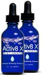 Activ8x drops for weight loss