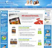 Evolution Slimming website selling Hiprolean XS
