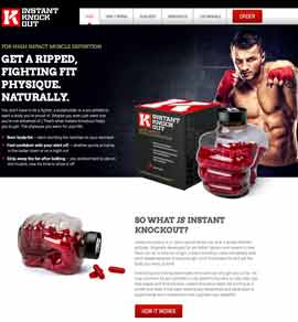 Website of Instant Knockout