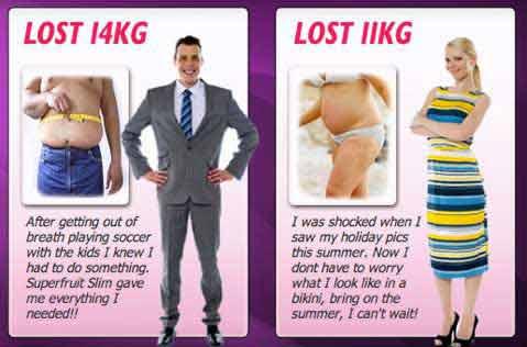 Superfruit Slim testimonials