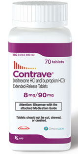 Contrave prescription diet pill
