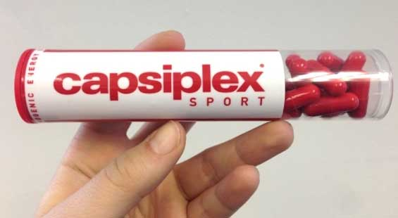 Capsiplex Sport packaging