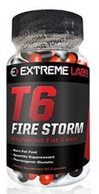 T6 Fire Storm fat burner