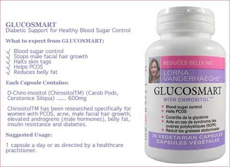 Glucosmart ingredients ann usage
