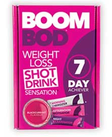Boombod 7 Day Achiever Weight Loss Shot Drink