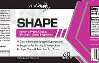 Vitamiss Shape Label